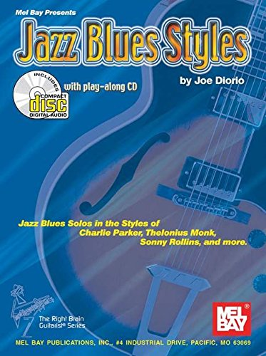 9780786659982: Jazz Blues Styles: Jazz Blues Solos in the Styles of Charlie Parker, Thelonius Monk, Sonny Rollins, and More
