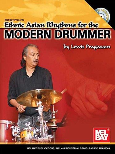 9780786660025: Ethnic Asian Rhythms for the Modern Drummer +CD