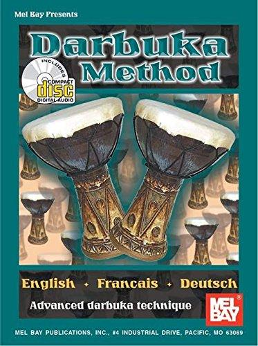 9780786660322: Mel Bay Darbuka Method (French, English and German Edition)