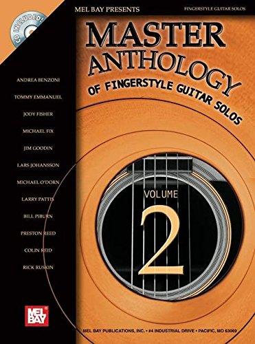9780786660704: Mel Bay Master Anthology of Fingerstyle Guitar Solos Vol. 2 Book/CD Set
