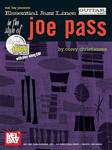 9780786660728: Essential Jazz Lines: The Style of Joe Pass for Guitar