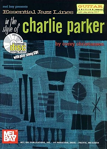 9780786660735: Mel Bay Essential Jazz Lines : Guitar Edt the Style of Charlie Parker