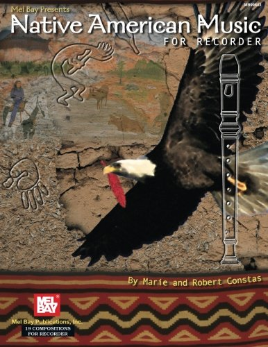 9780786660933: Mel Bay Native American Music for Recorder