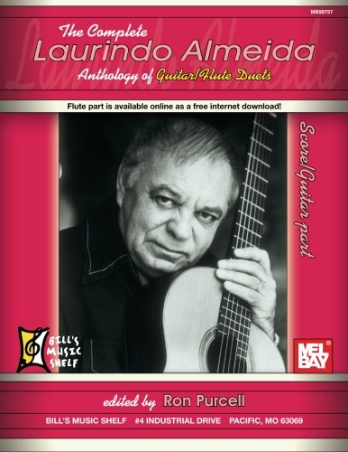 9780786661848: The Complete Laurindo Almeida Anthology of Guitar / Flute Duets: Score & Guitar