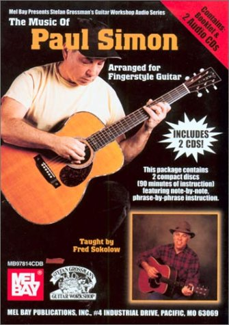 9780786661985: The Music of Paul Simon: Arranged for Fingerstyle Guitar
