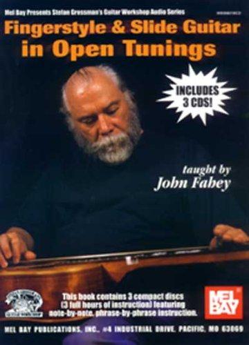 9780786662074: Fingerstyle & Slide Guitar in Open Tunings (Stefan Grossman's Guitar Workshop Audio)