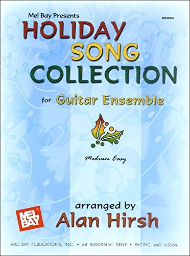 9780786662333: Holiday Song Collection for Guitar Ensemble: Medium Easy