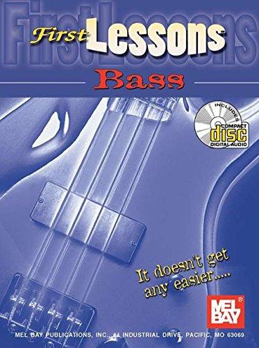 9780786662524: Mel Bay First Lessons Bass Book/CD Set