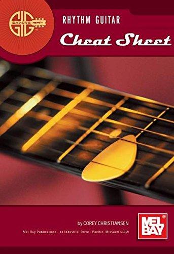 9780786662647: Mel Bay's Gig Savers: Rhythm Guitar Cheat Sheet