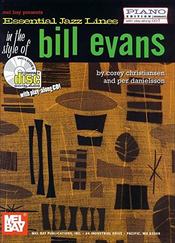 9780786662678: Mel Bay's Essential Jazz Lines: Piano Style of Bill Evans