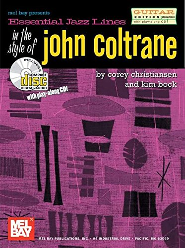 9780786662739: Essential Jazz Lines in the Style of John Coltrane: Guitar Edition
