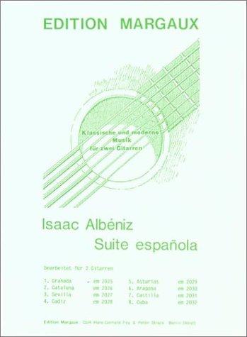 9780786664122: Granada arranged for 2 guitars: No. 1 from Suite Espanola (Spanish Edition)