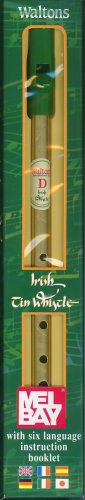 9780786664504: Walton's Irish Tin Whistle, Key of D (English, Spanish, French, Italian, German and Japanese Edition)