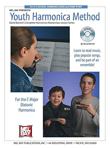 9780786664603: Mel Bay Youth Harmonica Method