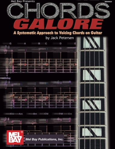 9780786664610: Mel Bay's Chords Galore: A Systematic Approach to Voicing Chords on Guitar