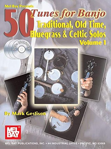 9780786664665: Mel Bay's 50 Tunes for Banjo, Vol. 1: Traditional Old Time, Bluegrass & Celtic Solos