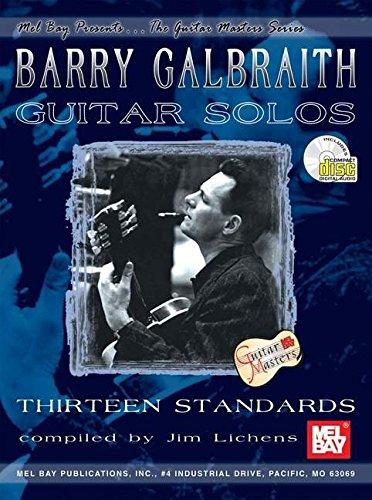 9780786665082: Mel Bay Barry Galbraith Guitar Solos