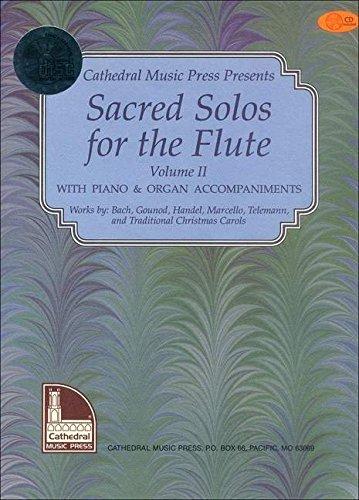 9780786665334: Mel Bay Sacred Solos for the Flute Volume 2 Book/CD Set