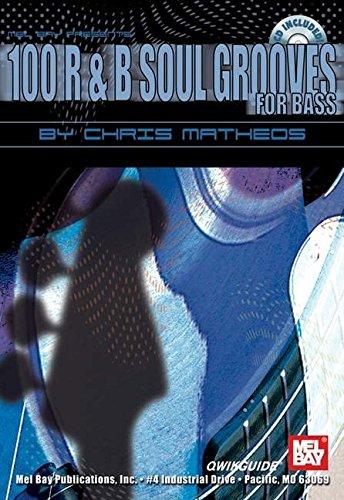 9780786666003: 100 R & B Soul Grooves for Bass