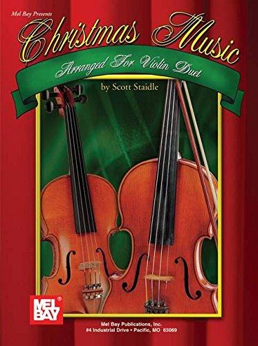 9780786666096: Mel Bay Christmas Music Arranged for Violin Duet