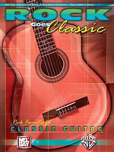 9780786666485: Rock Goes Classic: Rock Favorites for Classical Guitar