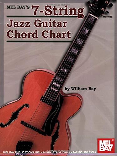 9780786667093: Mel Bay 7-String Jazz Guitar Chord Chart
