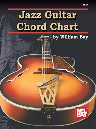 9780786667109: Mel Bay's Jazz Guitar Chord Chart