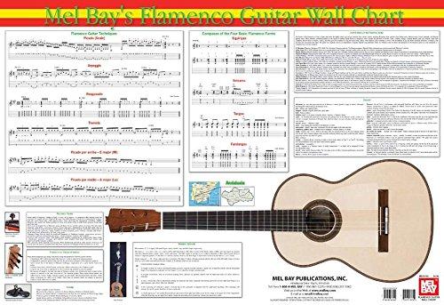 9780786667222: Flamenco Guitar Wall Chart