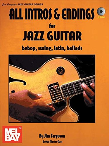 9780786667352: All Intros and Endings for Jazz Guitar: Bebop, Swing, Latin, Ballads