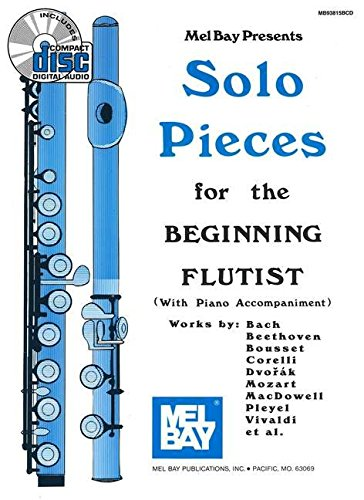 9780786667390: Mel Bay Solo Pieces for the Beginning Flutist Book/CD Set