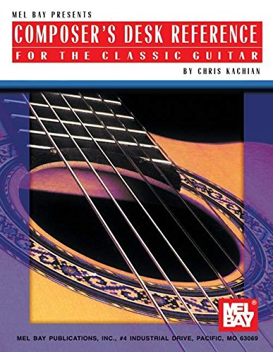 9780786667550: Mel Bay Composer's Desk Reference for the Classic Guitar