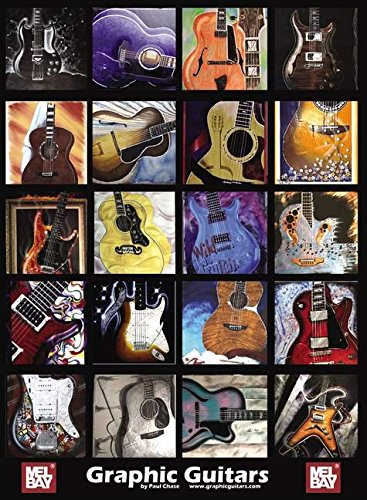 9780786667574: Mel Bay's Graphic Guitars Poster