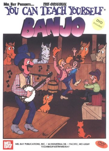 9780786667703: You Can Teach Yourself Banjo (Book/DVD Set)