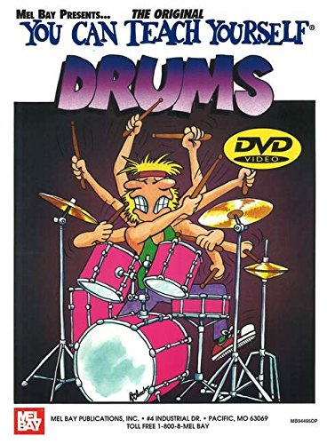9780786667772: Mel Bay You Can Teach Yourself Drums