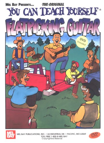 Mel Bay's You Can Teach Yourself Flatpicking Guitar (0786667818) by Kaufman, Steve