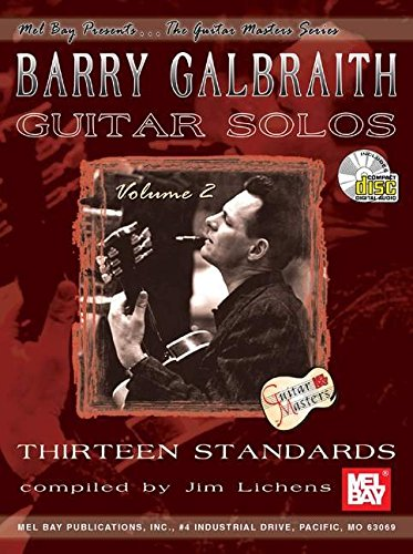 9780786668120: Mel Bay Barry Galbraith Guitar Solos, Volume 2