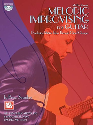 9780786668458: Melodic Improvising For Guitar: Developing Motivic Ideas Through Chord Changes