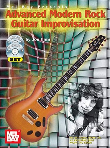 9780786668663: ADVANCED MODERN ROCK GUITAR IMPROVISATIO