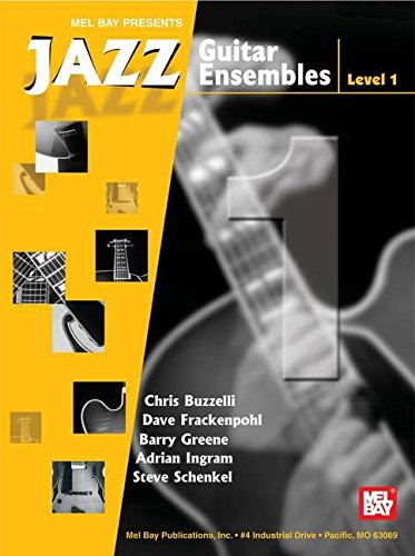 9780786669028: Mel Bay Jazz Guitar Ensembles, Level 1