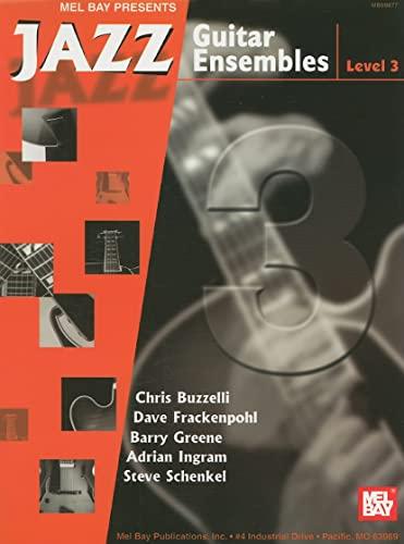 9780786669042: Jazz Guitar Ensembles, Level 3