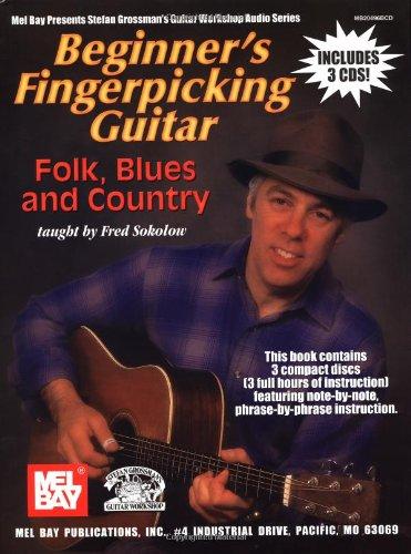 9780786669141: Beginner's Fingerpicking Guitar: Folk, Blues and Country (Book & CD)