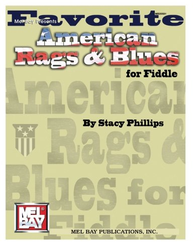 9780786669202: Mel Bay Favorite American Rags & Blues for Fiddle