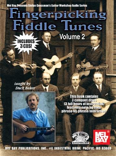 9780786669387: Fingerpckng Fiddle Tunes 2 Gtr Bkcd