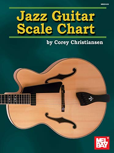 9780786669929: Jazz Guitar Scale Chart