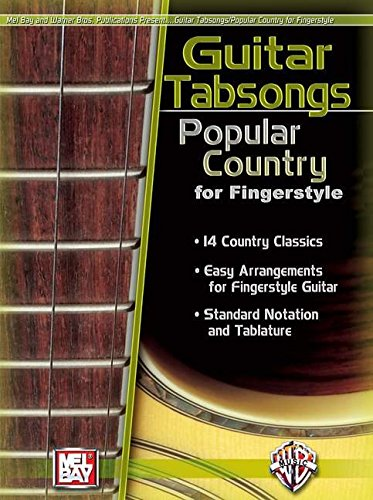 9780786670215: Mel Bay's Popular Country for Fingerstyle (Guitar Tabsongs) (Guitar Tabsongs)
