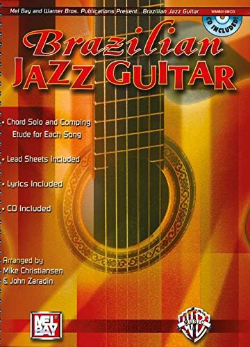 9780786670239: Brazilian Jazz Guitar: Book & CD