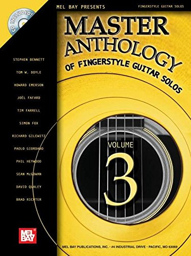 9780786670291: Master Anthology Of Fingerstyle Guitar Solos: 3