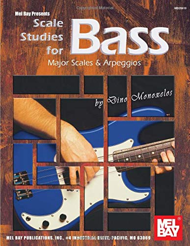 9780786670314: Mel Bay Scale Studies for Bass Major Scales & Arpeggios