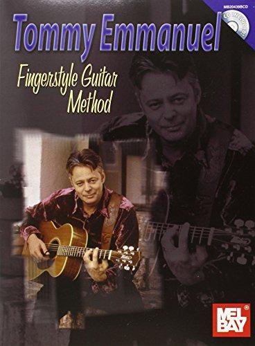 9780786670666: Tommy Emmanuel Finger Style Guitar Method