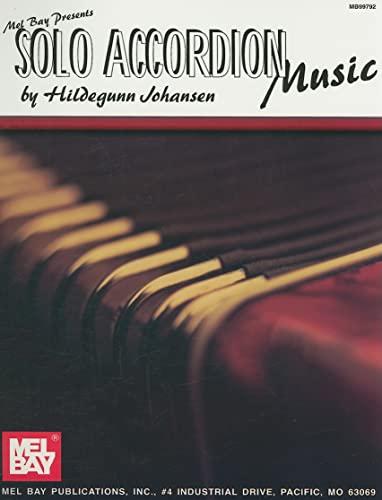 9780786670772: Mel Bay Solo Accordion Music